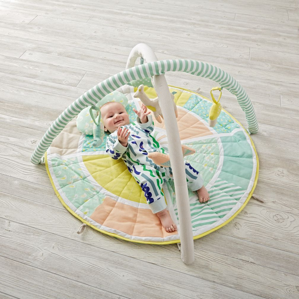 blooming baby activity gym  the land of nod -