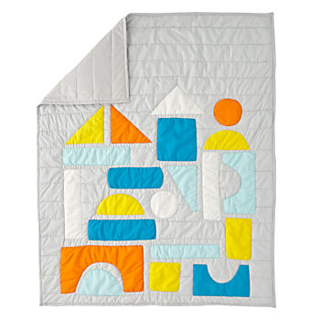 Block Party Baby Quilt