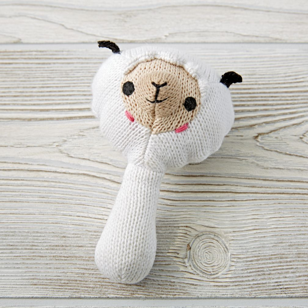 Sheep Baby Rattle The Land Of Nod