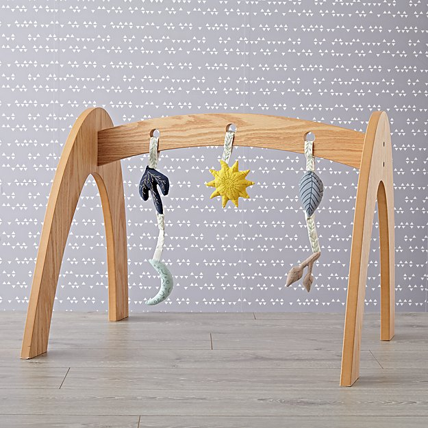 Natural Wee Workout Baby Gym with Genevieve Gorder Rattles