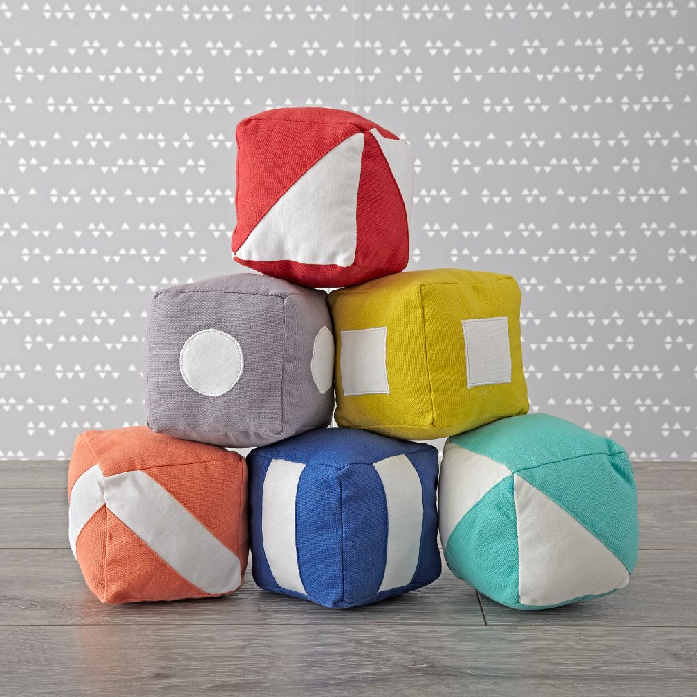 Soft Baby Toys : Simply soft baby blocks the land of nod