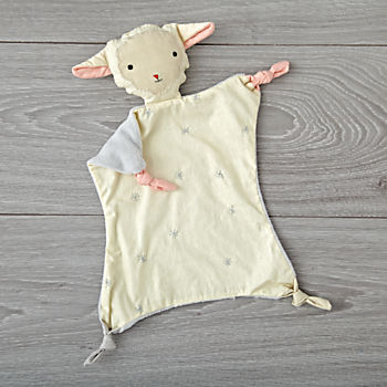 Sheep Baby Lovey by Kata Golda