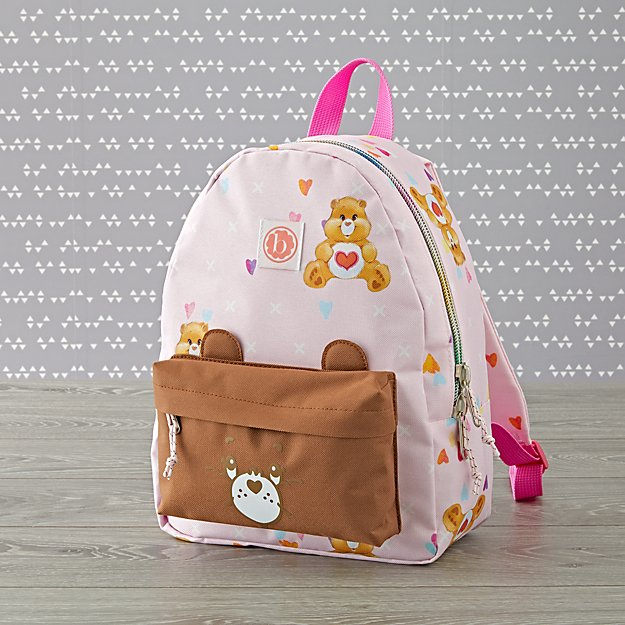 Baby Bling Care Bears Tenderheart Bear Backpack