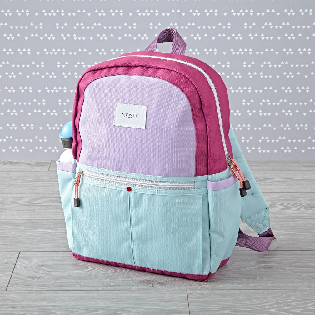 State Kane Magenta Backpack