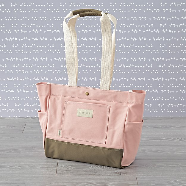 Birdling Mini Day Tripper Pink Diaper Bag