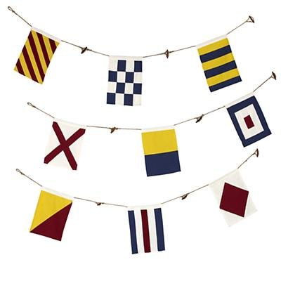Nautical Flag Banner