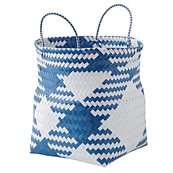 Indoor/Outdoor Blue Large Folding Storage Bin
