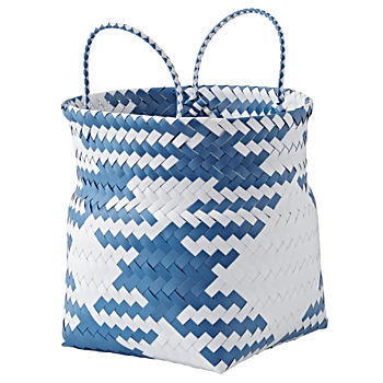 Indoor/Outdoor Blue Small Folding Storage Bin