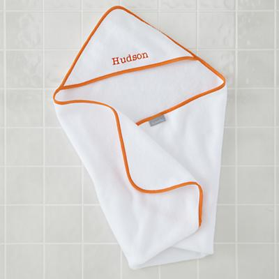 Fresh Start Hooded Towels (Orange)