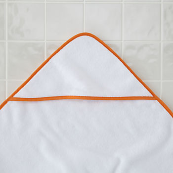 Fresh Start Hooded Towel (Orange)