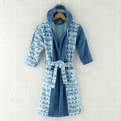 Rain, Rain Go Away Bath Robe (6-8 yrs)