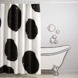 Nice Spot Shower Curtain