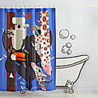 Zoo Babies Shower Curtain