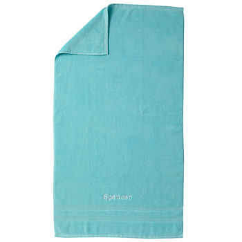 Personalized Fresh Start Bath Towel (Aqua)