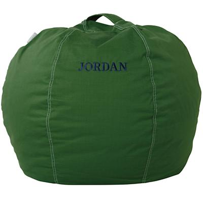 "30"" Personalized Bean Bag Chair Cover (New Green)"