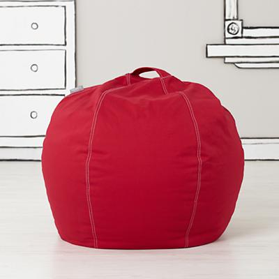 Small Red Bean Bag Chair Cover