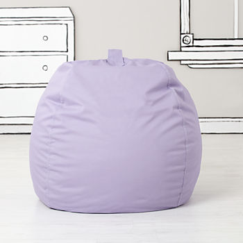 Large Lavender Bean Bag Chair Cover