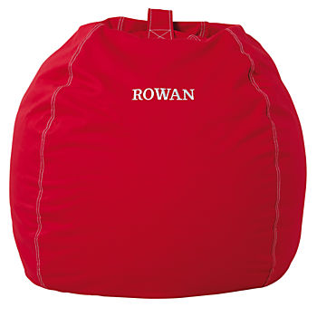 "40"" Personalized Bean Bag Chair (Red)"