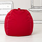 "40"" Red Bean Bag Chair Cover"