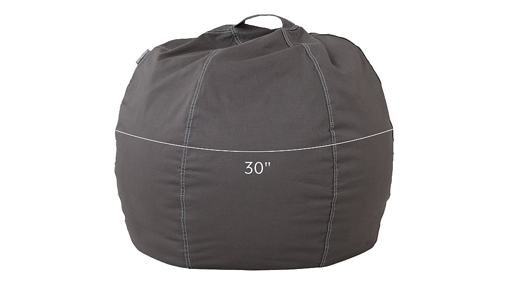 Small Grey Bean Bag Chair Cover Dimensions