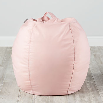 Small Light Pink Bean Bag Chair