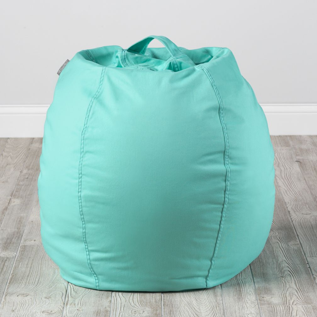 Small Mint Bean Bag Chair Cover