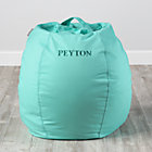 """30"""" Personalized Mint Bean Bag Chair(Includes Cover and Insert)"""