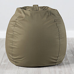 Large Dark Green Bean Bag Chair