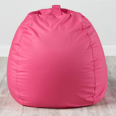 Large Dark Pink Bean Bag Chair