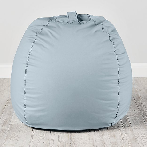 Large Light Blue Bean Bag Chair