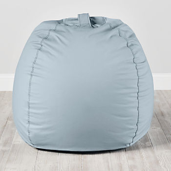 Large Light Blue Bean Bag Chair Cover