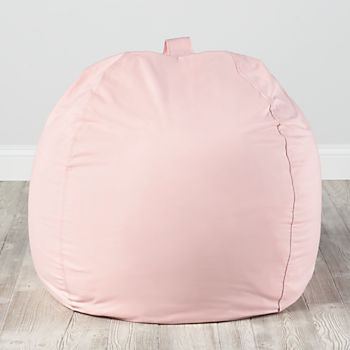 "40"" Ginormous Bean Bag Chair Cover (Lt. Pink)"
