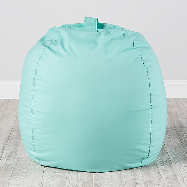 Large Mint Bean Bag Chair Cover