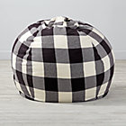 "40"" Buffalo Check Bean Bag Chair(Includes Cover and Insert)"