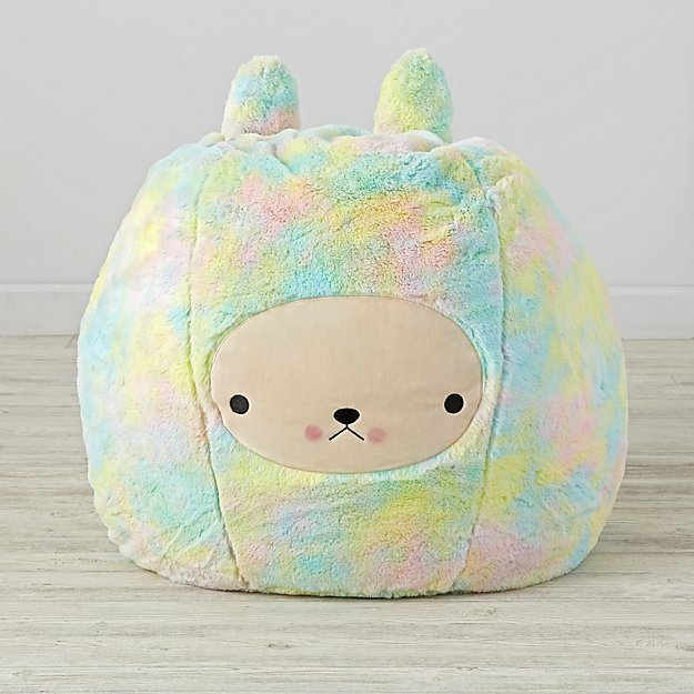 Small Bunny Bean Bag Chair Cover