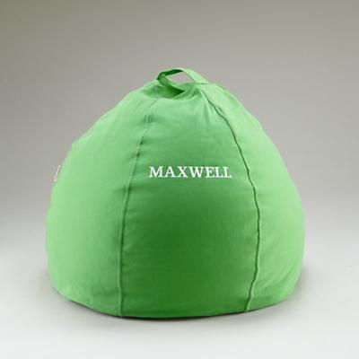 "30"" Personalized Bean Bag Cover (Green)"