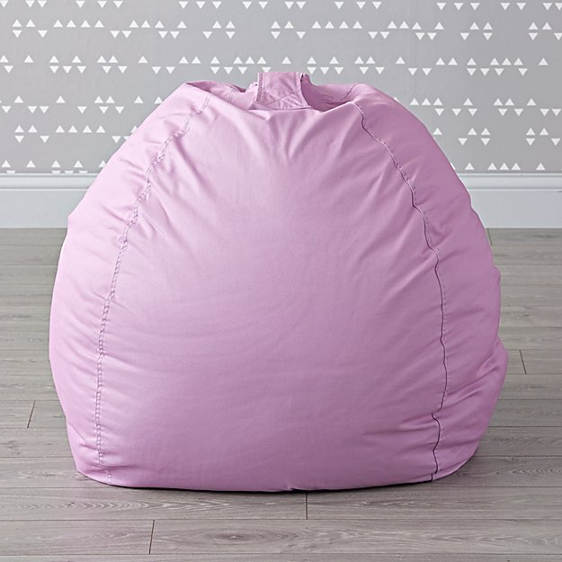 Large Light Purple Bean Bag Chair