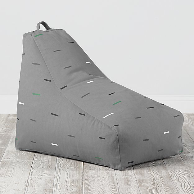 Bean Bag Lounger (Grey)