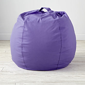 Small Purple Bean Bag Chair Cover