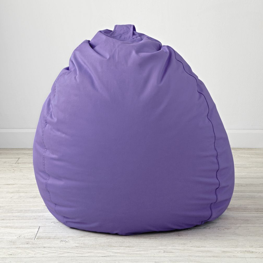 "40"" Ginormous Purple Bean Bag Chair"