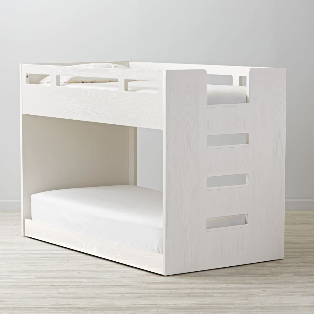 Abridged Low Twin Bunk Bed The Land Of Nod