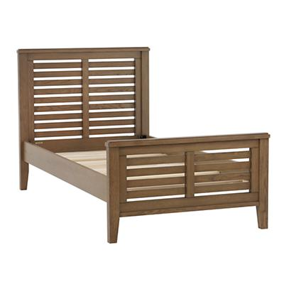 Twin Bayside Slatted Bed (Cocoa)