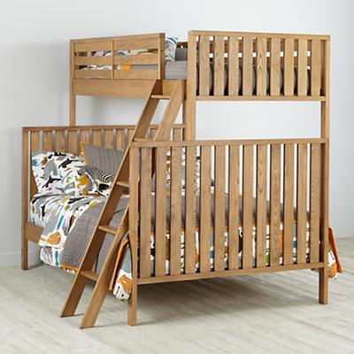 Cargo Twin Over Full Bunk Bed (Natural)