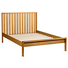 Full Natural Cargo Low Footboard Bed