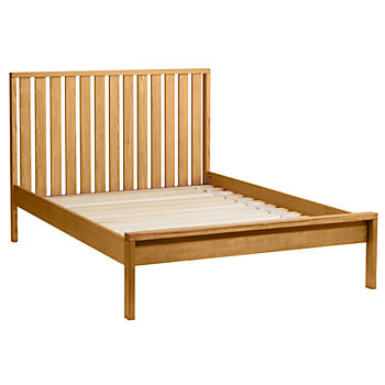 Full Cargo Low Footboard Bed (Natural)