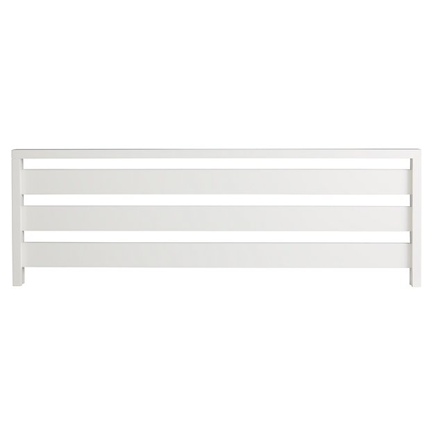 Cargo White Bed Rail