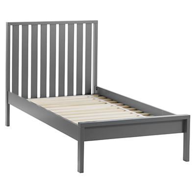 Twin Cargo Low Footboard Bed (Charcoal)