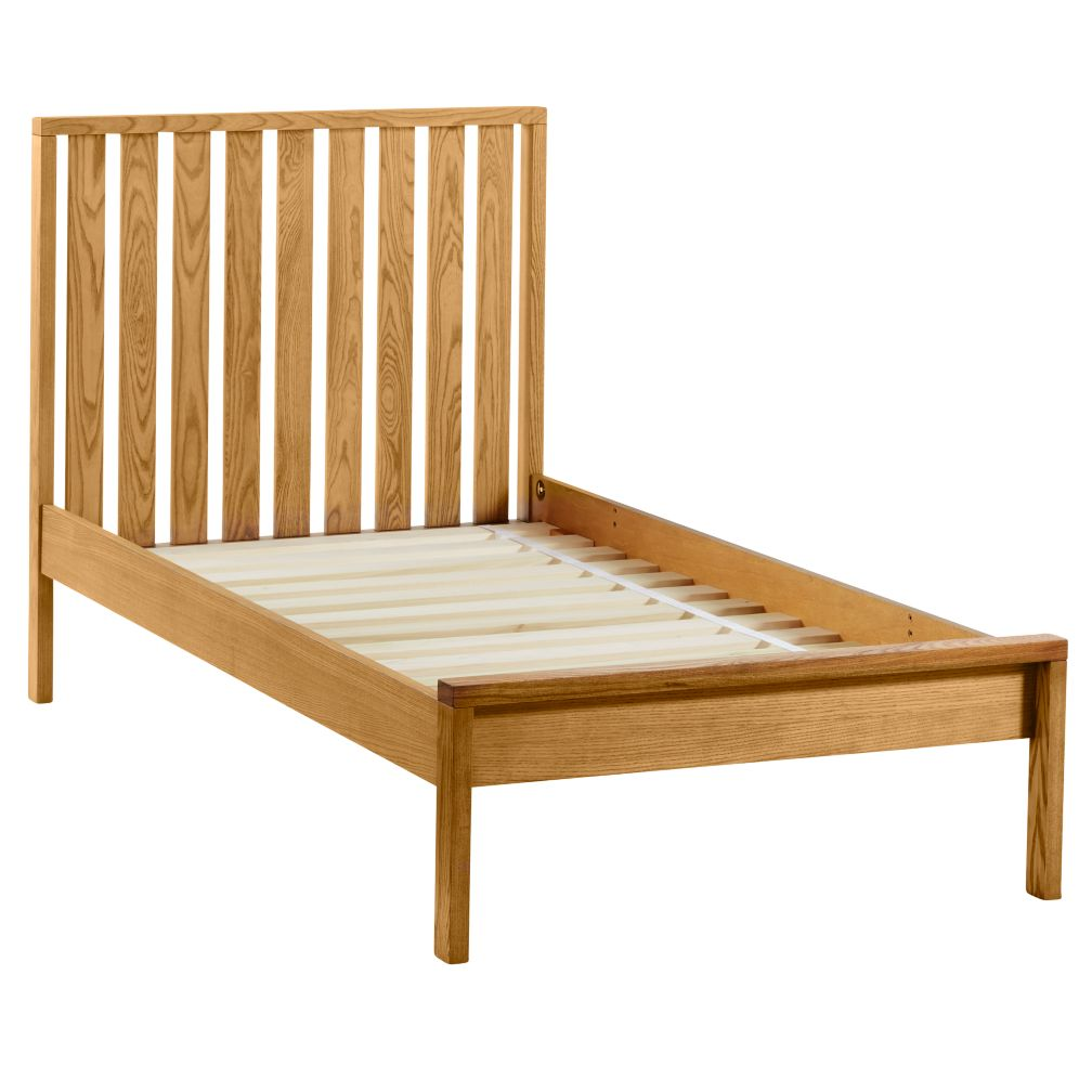 Twin Cargo Low Footboard Bed (Natural)