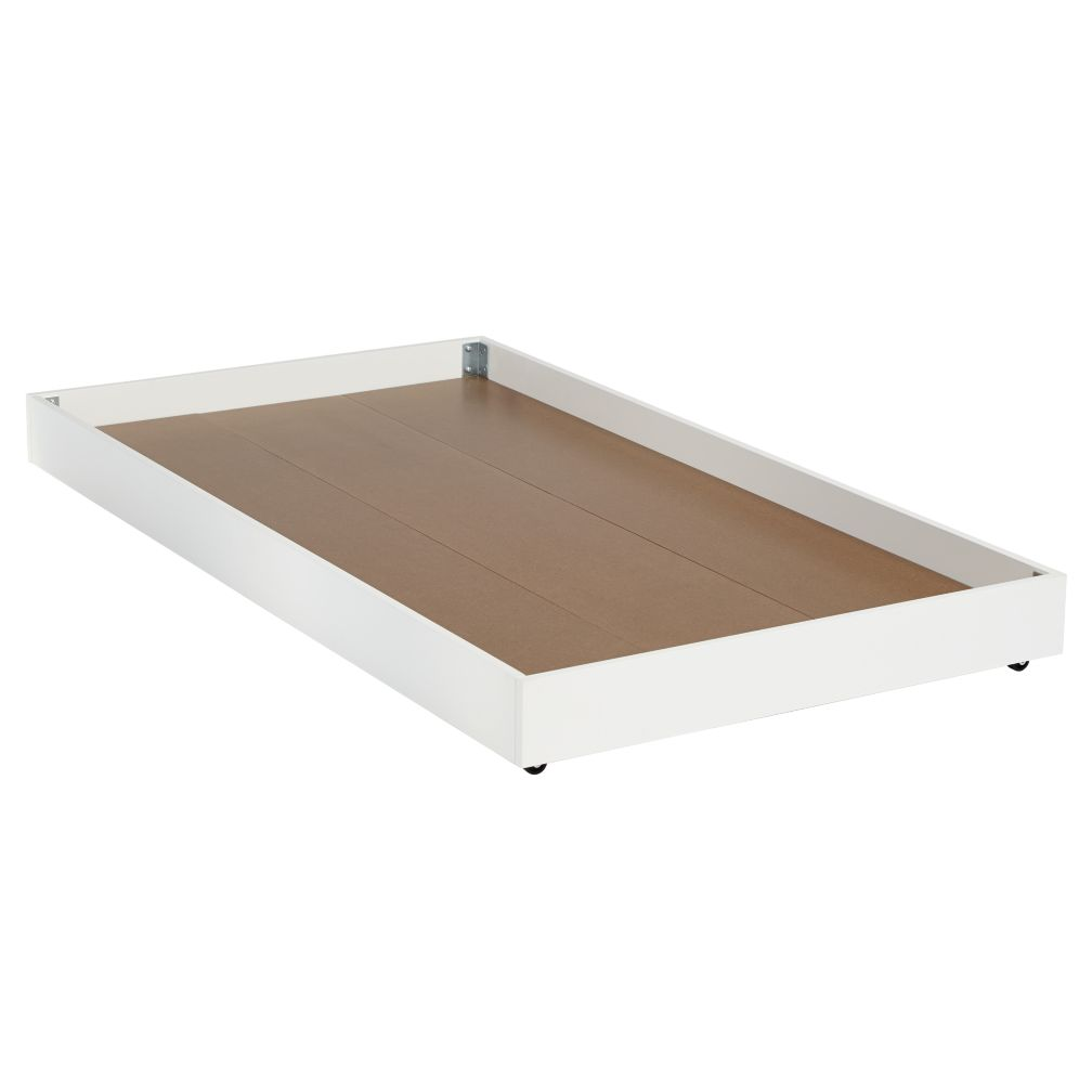Cargo Trundle Bed (White)