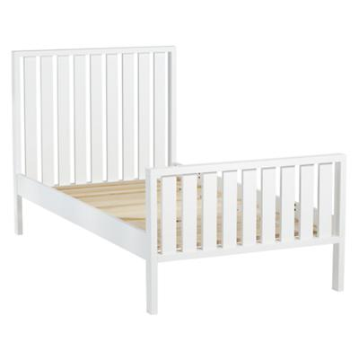 Twin Cargo Bed (White)